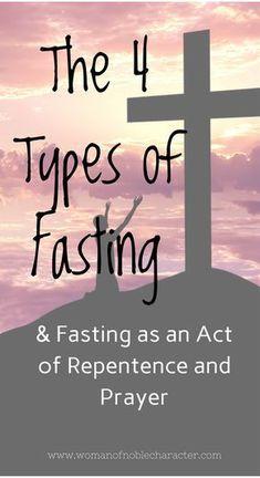 types of fasting for spiritual breakthrough pdf