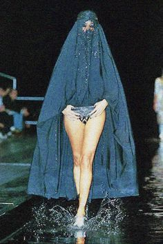 Water Runway + Those Clothes = Awesome Show