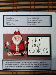 Recipe book: Christmas cookies