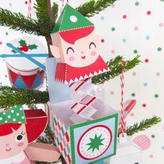 Jack in the Box Ornament Freebie   Fantastic Toys