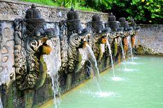 Air Panas Hot Springs, Banjar, Bali by mariskar, via Flickr (this is my image! yay!)