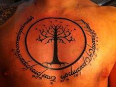 tolkien tattoo
