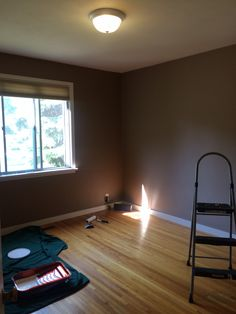 Master Bedroom Before painting