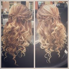 #updo #promhair #blonde #braidideas #braid #braided