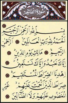 Fatiha Suresideki Sırlar