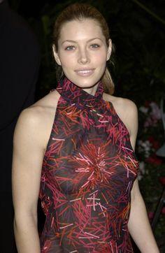 "giannabing: "" Jessica Biel in a Somewhat See-Thru Shirt http://ift.tt/221md33 """