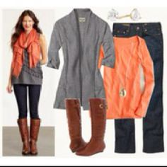Dark Brown Riding Boots Outfit