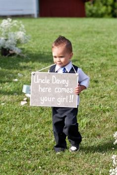 cute ringbearer idea! Either for my nephew to use if Matthias is a 'groomsman' or change the wording is Matthias is the ring bearer.