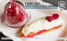Dia dos Namorados - Éclair de Framboesa / Valentines Day - Raspberry Éclair