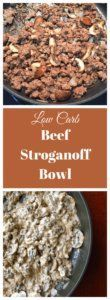 Even though you may be watching your carbs, sometimes you want some comfort food!  This recipe for beef stroganoff will definitely fill the bill with beef, mushrooms and a creamy sauce.  I served m…