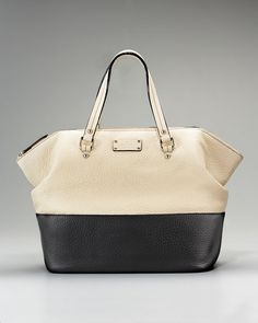 Kate Spade color block tote. Want this!