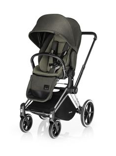 CYBEX Priam with Lux Seat in Olive Khaki Plus