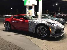The Chevy Corvette ZR1 Spotted with Less Camo; Proves Porsche and Ferrari Should Worry! See it soon at Riverside Chevrolet :)