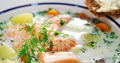 Знаменитый финский суп из лосося со сливками - Лохикейтто. Рецепт приготовления.