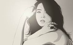 Image result for beautiful face sketch