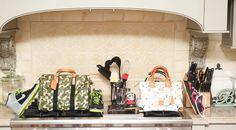 Bags, Louis Vuitton; Shoes, Nike