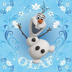 Frozen Cute Olaf Wallpaper