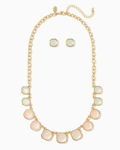charming charlie | Arya Necklace Set | UPC: 400000032603 #charmingcharlie