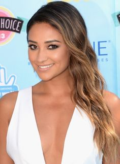 Shay Mitchell's hair color
