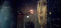 Los Ángeles. Blade Runner, director Ridley Scott, 1982. Señala encima de la imagen para verla más grande.