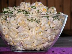 Sałatka tortellini z szynką i ananasem - Przepisy kulinarne - Sałatki Appetizer Recipes, Salad Recipes, Healthy Recipes, Savory Pastry, Polish Recipes, Potato Salad, Food Porn, Food And Drink, Cooking
