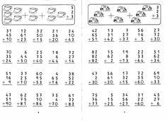 FICHAS MATEMÁTICAS DE 1º AO 3º ANO;Alfabetização infantil, Atividades 1º Ano…