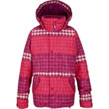Burton Echo Jacket - Waterproof, Insulated (For Little and Big Girls) in Fuzzhound - Closeouts