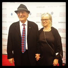 Director of WORDS & PICTURES, Fred Schepisi, with his wife, who he says is also his muse. <3 #DIFF2014 #RedCarpet #openingnight