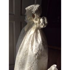Isabel Silk Christening Gown-Baptism-Bautizo