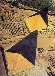 The Pyramids .Giza , Egypt