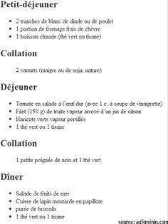 Menu imprimer r gime thonon pdf recette pinterest - Qui a perdu du poids avec le regime thonon ...