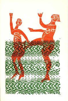 HAP Grieshaber woodcut, 1970