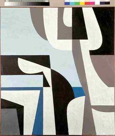 Yiannis Moralis (Greek, Figurehead 100 x 89 cm. Abstract Geometric Art, Abstract Images, Greek Art, Triptych, Art For Sale, Vintage Posters, New Art, Sculpture Art, Modern Art