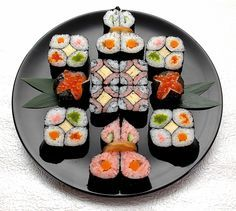 kazarimaki ; deco sushi