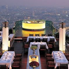 Sirocco and Sky Bar, Bangkok: Architectural Digest