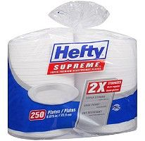 Hefty® Supreme™ Plates - 250 ct.  breakfast/lunch/dinner plates $10.98 Disposable Plates, Food Service Equipment, Breakfast Lunch Dinner, Household Items, Dinner Plates, Supreme, Catering, Restaurant