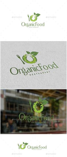 Organic Food Letter O Logo — Vector EPS #healthy • Download ➝ https://graphicriver.net/item/organic-food-letter-o-logo/19672066?ref=pxcr #OrganicFoodVector