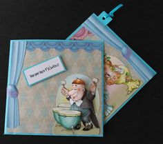 a card with a surprise.   docrafts.com