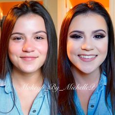Prom makeup before and after    #cosmetics #makeup #contour #makeuplover #makeupaddict #makeupjunkie #makeupobsessed #makeupbyme #makeuplook #makeuptalk #makeuplooks #glam #beauty #beautyandtheblend #eotd #fotd #motd #wakeupandmakeup #mua #makeupartistry #makeupartist #makeupartistsworldwide #undiscoveredmua #beforeandafter #hudabeauty #prom #prommakeup #prom2k16 #eyeshadow #eyemakeup