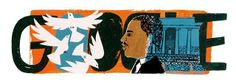 Monday's Google Doodle honors the legendary civil rights activist Rev. Dr. Martin Luther King, Jr., as the nation celebrates with parades, marches and church sermons. [20 Jan 2014]