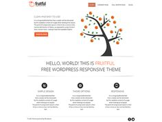 WordPress › Fruitful « Free WordPress Themes