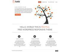 WordPress › Fruitful « Free WordPress Themes