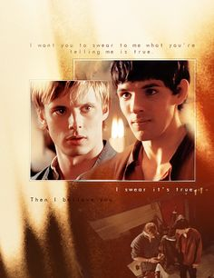 Guys... this was only the SECOND episode. Tell me Merthur isn't meant to be. I dare you.