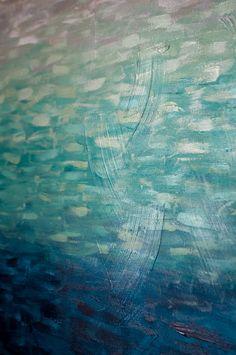 Original abstrakte Malerei von Kellie Morley