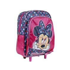 Mochila Junior con carro Minnie Think in Love