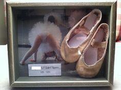 First pair of ballet shoes keepsake