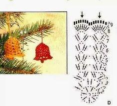 Schemi uncinetto Natale   Buongiorno a tutti! Visto che ottobre è agli sgoccioli, da oggi inizio a proporvi oltre ai miei lavori, anche deg...