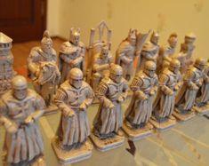 Schach set Segelboot Chess Set von JimArnoldsChessSets auf Etsy