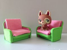 How to make a LPS chair: LPS accessories - YouTube
