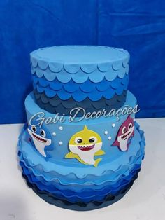 Bolo Da Minnie Mouse, Bolo Fake Eva, Fake Baby, Baby Shark, Birthday Cake, Desserts, Cakes, Party, Princess
